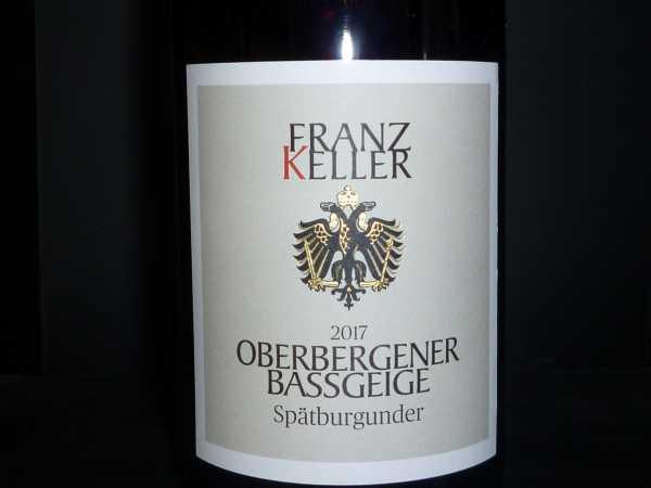 Franz Keller Oberbergener Bassgeige Spätburgunder VDP Erste Lage 2017