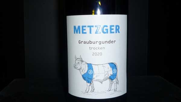 Metzger Grauburgunder trocken 2020