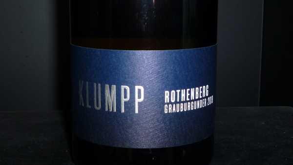 Klumpp Rothenberg Grauburgunder trocken 2019