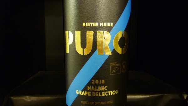 Puro Malbec Grape Selection 2018