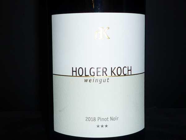 Holger Koch Pinot Noir *** Selection 2018