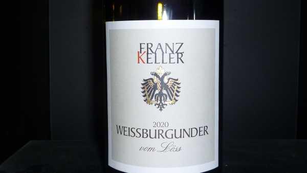 Franz Keller Weissburgunder vom Löss VDP Gutswein 2020