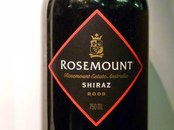 Rosemount Shiraz Diamond Label 2015