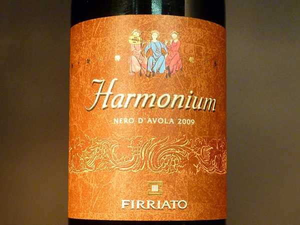 Firriato Harmonium Nero d ´Avola 2013