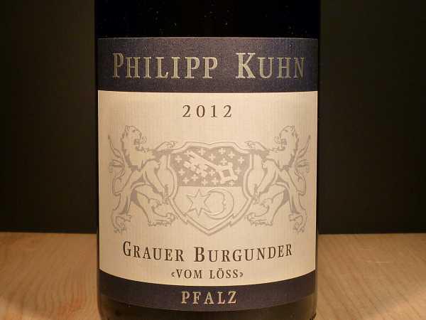 Philipp Kuhn Grauer Burgunder vom Löss trocken 2017