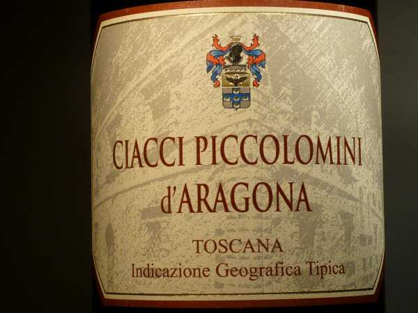 Ciacci Piccolomini Rosso Aragona Preisleistung 2016