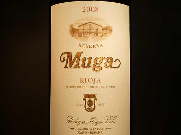Muga Reserva Rioja 2015